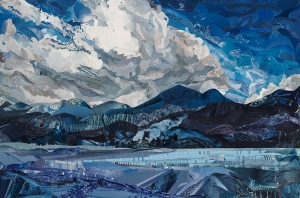 """Canadian Rocky Mountain High,"" on exhibit at Atlanta Artists Center, 3/7-4/10/15; FIRST PLACE WINNER"