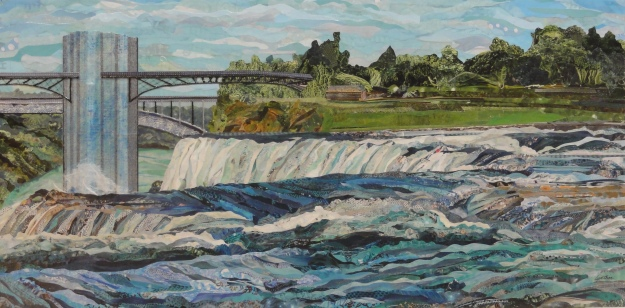 Over the American Falls
